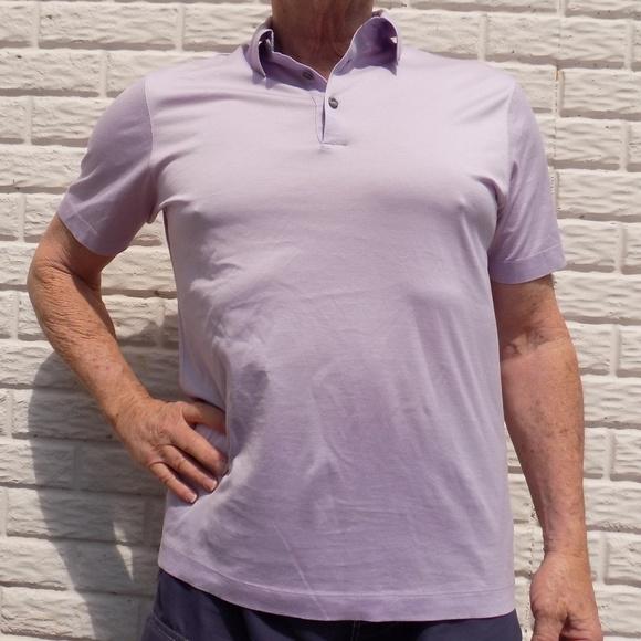 f1ea5c2a1 Hugo Boss Shirts | Mens Light Pink Short Sleeve Polo Shirt | Poshmark